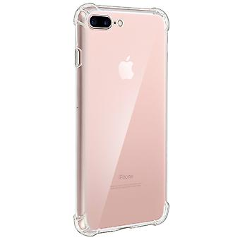 iPhoneCase 7+ / 8+ Akashi, Enforced Angles, Silicone Skin - Transparent