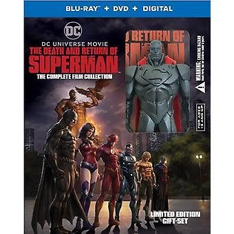 Death & Return Of Superman: Comp Film Coll Giftset [Blu-ray] USA Import