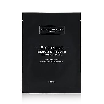 Edible Beauty Express Bloom Of Youth Infusion Mask (Exp. Date: 12/2021) 5sheets