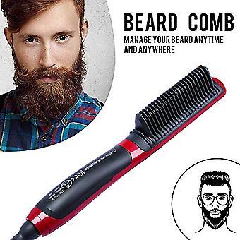 Multifunctional Beard Straightener Hair Styler  Iron Hair Curler Care Hot Comb Curling Irons