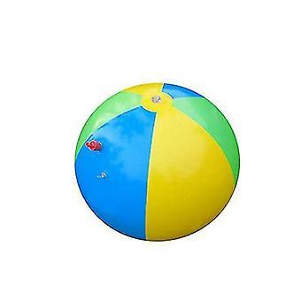 3 Cores inflável sprinkler bola de água ao ar livre brinquedo divertido para festa quente de verão x1106