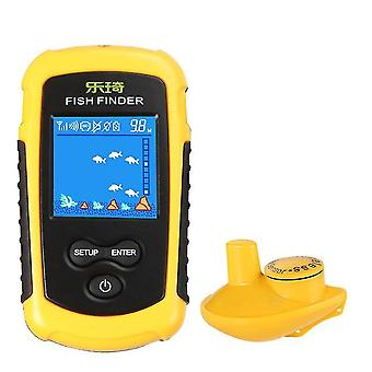 Wired wireless sonar detector, outdoor fish detector, lcd display az8388