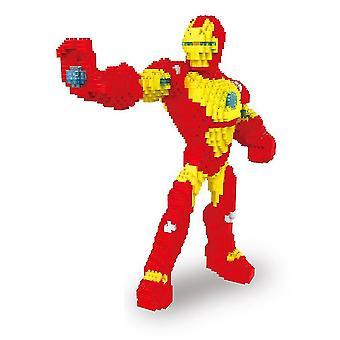 New Ironman Building Blocks Puzzle Micro 3d Figures Marvel Educational Brick Toys ES7533
