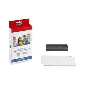 Canon KP-36IP inkt/papier voor printers uit de Selphy-serie - 36x 4 x 6 ansichtkaartformaat