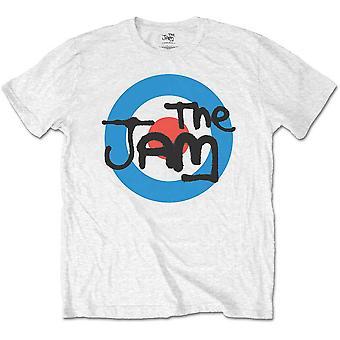 The Jam - Spray Target Logo Kids 5 - 6 Years T-Shirt - White