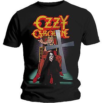 Ozzy Osbourne - Speak of the Devil Vintage Men's Large T-Shirt - Black