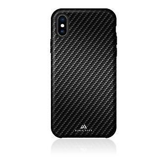 Black Rock - Flex Carbon Cover för Apple iPhone Xs, svart (1 TILLBEHÖR)