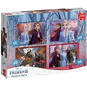 Disney Frozen II 4 In 1 Jigsaw Puzzle Pack