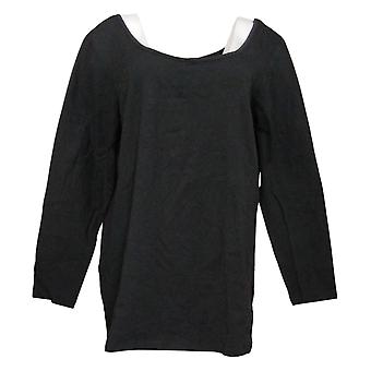 Mujeres con control Petite Top Wicked Tunic Black A302269