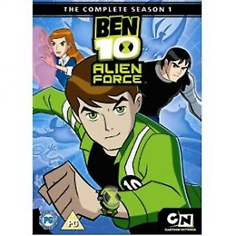Ben 10 Alien Force Season 1 Complete DVD