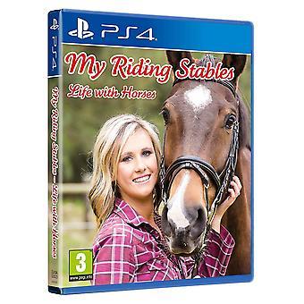 Mes écuries d'équitation vie avec des chevaux JEU PS4