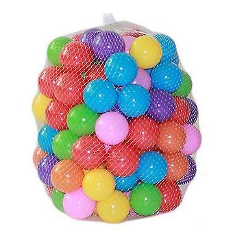 جديد 50 pcs حلوى 7cm لينة البلاستيك المحيط الكرة تجمع للعببين الملونة الإجهاد الهواء شعوذة كرات sm16639