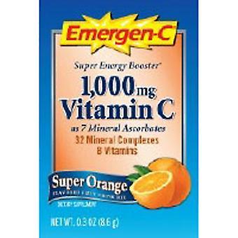Emergen-C Emergen-C Super Orange, 1000 mg, 30 packets