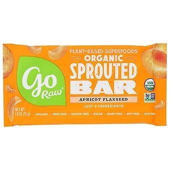 Go Raw Bar Apricot Sprtd Org, Fall von 30 X 1,8 Oz