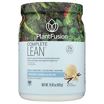 PlantFusion Complete Lean Plant Protein Creamy Vanilla Bean, 14.8 Oz