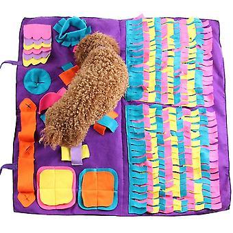 новый b 70x50cm домашний животный собака нюхать коврик нюхать обучение одеяло съемные флисовые подушечки для собак коврик sm64365