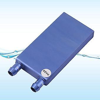 40 * 80 * 12mm alumínio resfriamento de água aquecedor de bloco líquido para cpu gpu