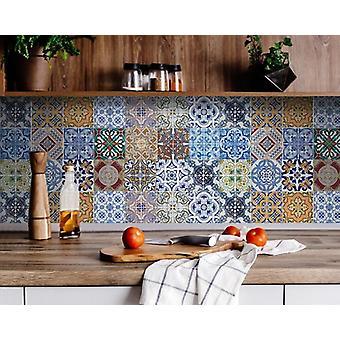 "8"" X 8"" Kyla Mutli Mosaic Peel and Stick Tiles"