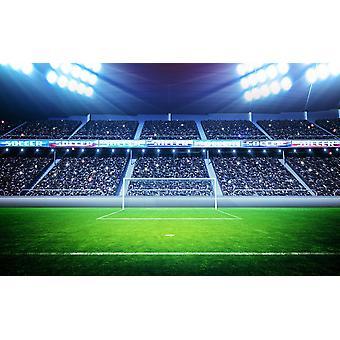Bakgrunnsmaleri Fotballstadion