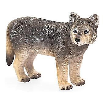 Wildlife & Woodland Wolf Cub Toy Figure