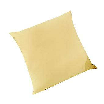 Silktaa Pure Cotton Pure Color Square Throw Pillow Home Decoration Cushion