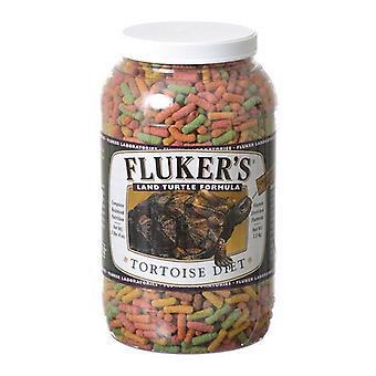 Flukers Tortoise Diet - Large Pellet - 3.25 lbs