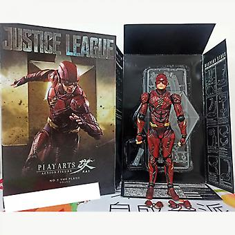 Hywell Marvel The Flash 2nd Generation Flash Justice League Movie Series Movable Boxed Figure