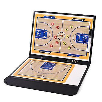 Foldable Coach Basketball Board Tactic Coaching Basketball Tactical Board Portable Competition