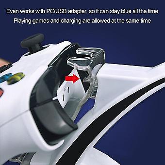 USB LED kétvezérlős töltő dokkolóállomás töltő Microsoft For Xbox konzolhoz
