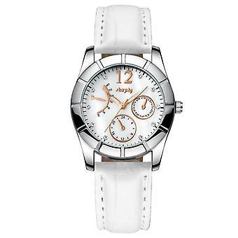Women Luxurious Wristwatch Leather Band Waterproof Watch For Women