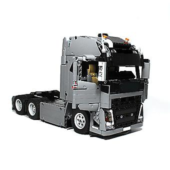 Engineering Container Tractor Unit Building Block Automobile Automobile Building Block