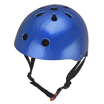 Kiddimoto Helmet - Metallic Blue