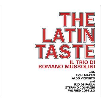Romano Mussolini - Latin Taste [CD] USA import