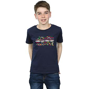 Elf Boys Candy Cane Forest T-Shirt
