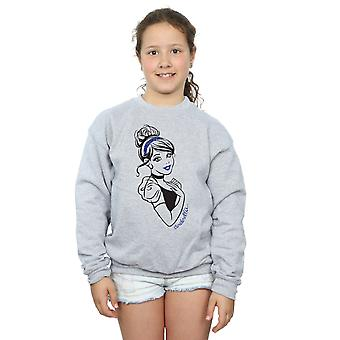 Disney Princess jenter Askepott Glitter Sweatshirt