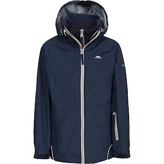 Trespass Girls Rockcliff Waterproof Windproof Fleece 3 In 1 Jacket