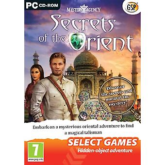 SELECT GAMES - Mystery Agency Secrets of the Orient (PC DVD) - Neu