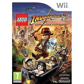 LEGO Indiana Jones 2 L'aventure continue (Wii) - Nouveau