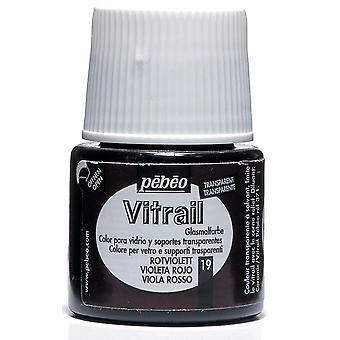 Pebeo Vitrail Transparent GlasFärg 45ml