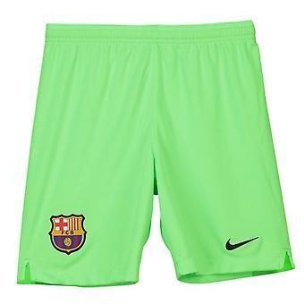 2018-2019 Barcelona away Nike portar pantaloni scurți (verde)-copii