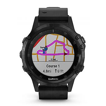 Garmin Fenix 5 Plus Sapphire Schwarz GPS Multisport Smartwatch (010-01988-07)