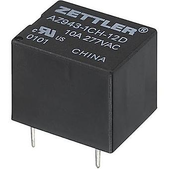 Zettler Electronics AZ943-1CH-9DE PCB relay 9 V DC 15 A 1 change-over 1 pc(s)