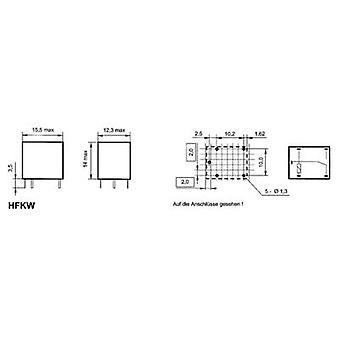 Hongfa HFKW/024-1Z W تتابع السيارات 24 V DC 10 A 1 تغيير أكثر