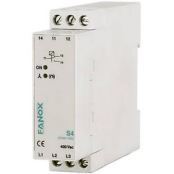 Monitoring relay 1 change-over Fanox S4-3x400V AC 1 pc(s)
