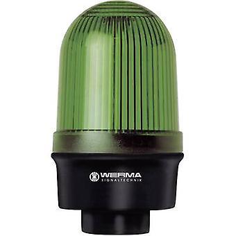 WERMA Signaltechnik Light 219.200.00 vihreä non-stop-valo signaali 12 V AC, 12 V DC, 24 V AC, 24 V DC, 48 V AC, 48 V DC, 110 V AC, 230 V AC