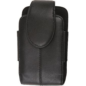 5 Pack -Wireless Solutions Premium Leather Pouch pour Motorola Q9c,Q9h,Q9m,Q9eNapoleon - Noir