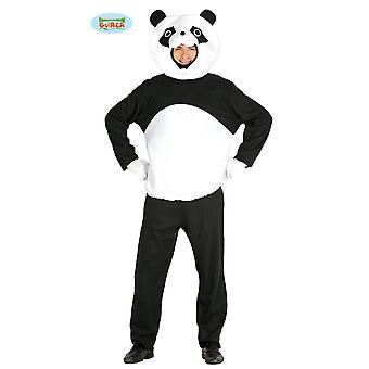Panda black white bear bear costume costume of Panda bear costume