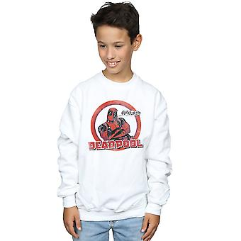 Marvel Boys Deadpool Seriously Speech Bubble Sweatshirt