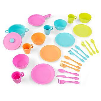 Kidkraft 27-Piece Pastel Cookware Playset