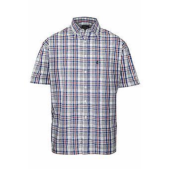 Campeón país Mens Beverley Casual camisa de manga corta